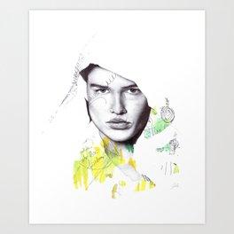 Ava Art Print