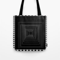 noir Tote Bags featuring Noir by My own little world