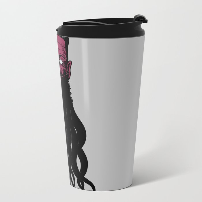 Lovecramorphosis Metal Travel Mug