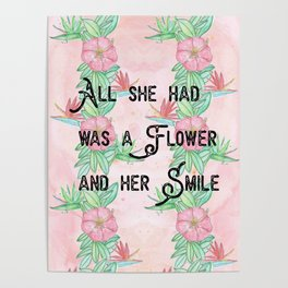 Surfer girl quotes Poster