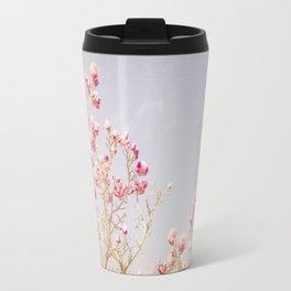 Sweet Pink Magnolias Travel Mug