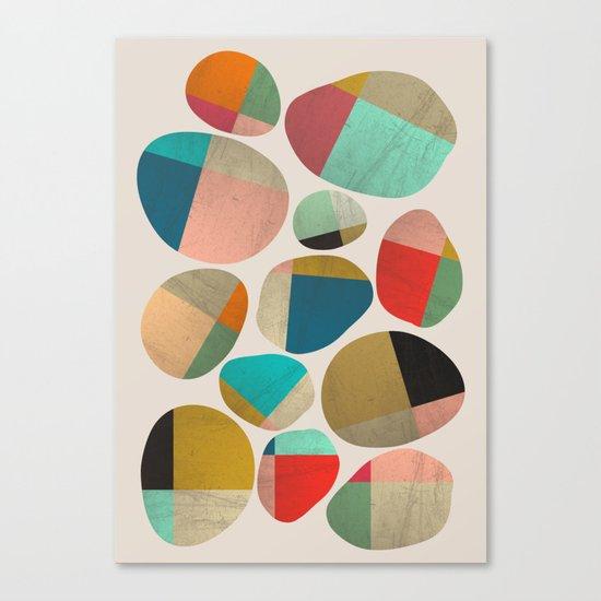 Playful Stones Canvas Print