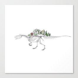Spino-peony-saurus Canvas Print
