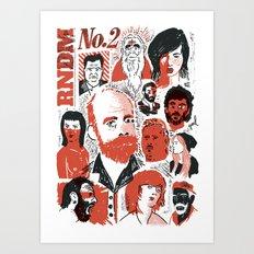 RNDM#2 Art Print