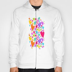 Cute colorful heart Hoody
