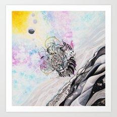 Infinity Knot II Art Print