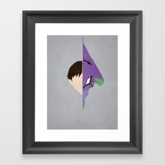 Shinji Framed Art Print