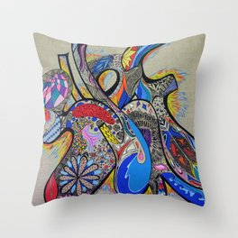 TAG SURF Throw Pillow