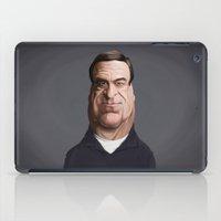 john snow iPad Cases featuring Celebrity Sunday ~ John Goodman by rob art   illustration