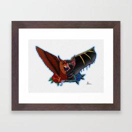 Owl Bat! Framed Art Print