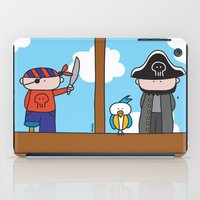 pirates iPad Cases featuring Pirates by oekie