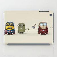 minion iPad Cases featuring Minion Avengers by CforCel