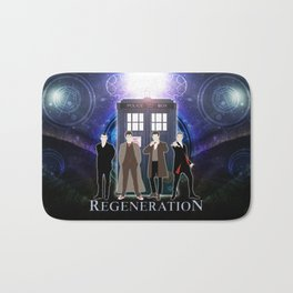 The Doctor Of Regeneration Bath Mat