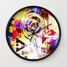 Portal into imaginary Wall Clock
