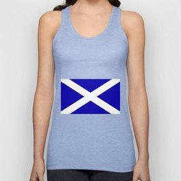 Scottish Flag Unisex Tank Top
