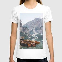 Day at the Mountain Lake T-shirt