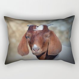 The Young Goat Rectangular Pillow