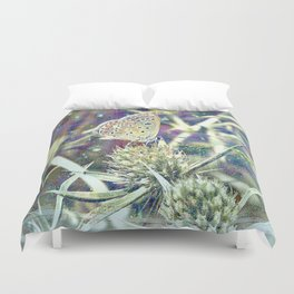 And Then There Was You - Magic In The Garden Duvet Cover
