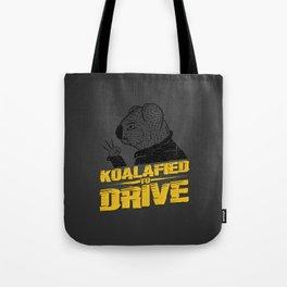 Koalafied To Drive Tote Bag