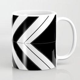 Black White Abstract Coffee Mug