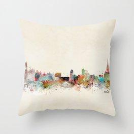 sheffield united kingdom Throw Pillow