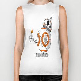 BB8 Thumbs up! Biker Tank