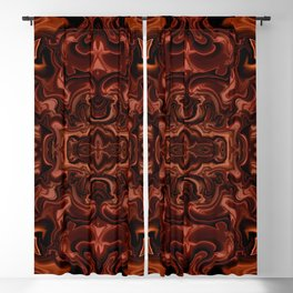 Chocolate absract Blackout Curtain