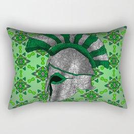 Spartan Helmet Rectangular Pillow