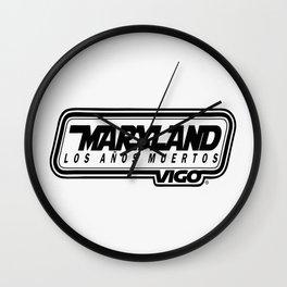 L  O  S    A  Ñ  O  S    M  U  E  R  T  O  S - MARYLAND - vigo - MarylandVigo Wall Clock