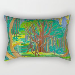 Il Bosco (The Forest) Rectangular Pillow