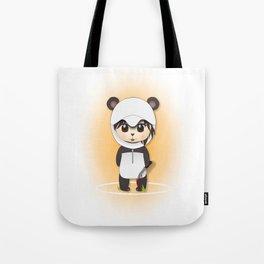 Chibi Panda-lecki Tote Bag