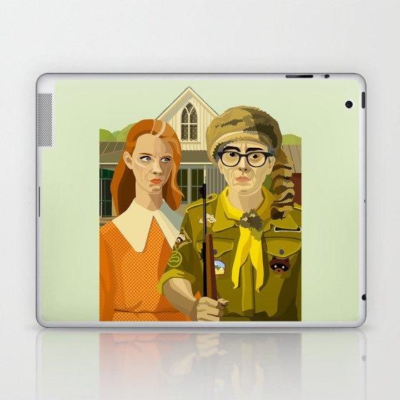 Moonrise Kingdom Gothic Laptop & iPad Skin