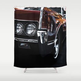 Car headlight 4 Shower Curtain