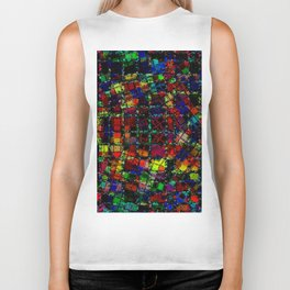 Urban Psychedelic Abstract Biker Tank