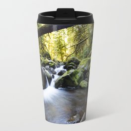 Falls in Oregon Travel Mug