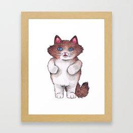 Chubby Tough Framed Art Print