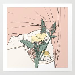 Pocket Plants Art Print