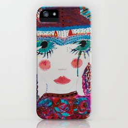 One ticket gypsy iPhone Case