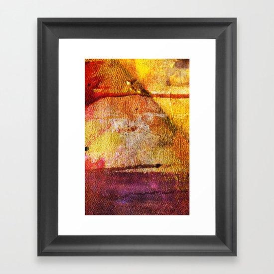 Refined by Fire Framed Art Print