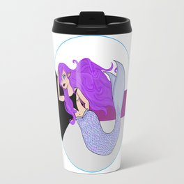 Demisexual Mermaid Travel Mug
