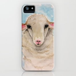 Little Lambs Eat Ivy iPhone Case