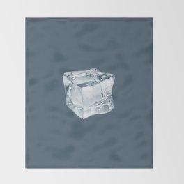Stay Cool - dark Throw Blanket