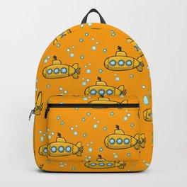 Yellow Submarine - Yellow sea  Backpack
