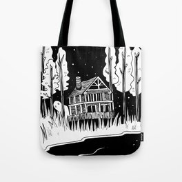 Mysterious Ghost Tote Bag