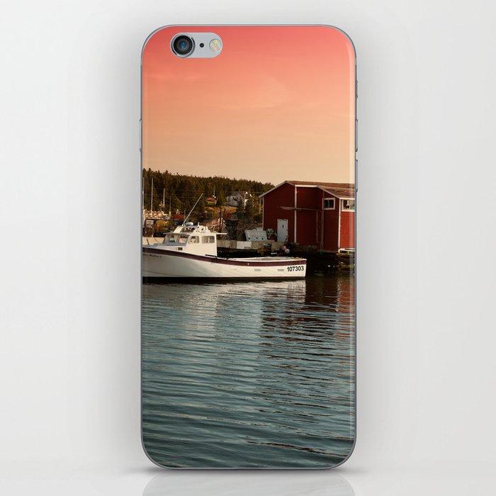 Fishing Boat iPhone Skin