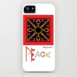 Peace is Warm iPhone Case