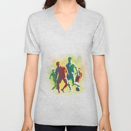 Football is more than a game Unisex V-Neck