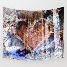across time Wall Tapestry