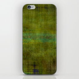 Green burrows ~ Abstract iPhone Skin