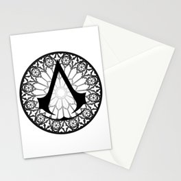 Assassin's Creed Logo Notre Dame Stationery Cards